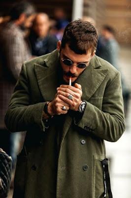 coat atau jaket sebagai pilihan outfit
