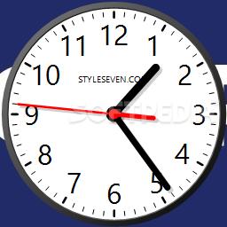 تحميل ساعة سطح المكتب مجانا برابط مباشر Download Desktop Clock Plus-7 1.1