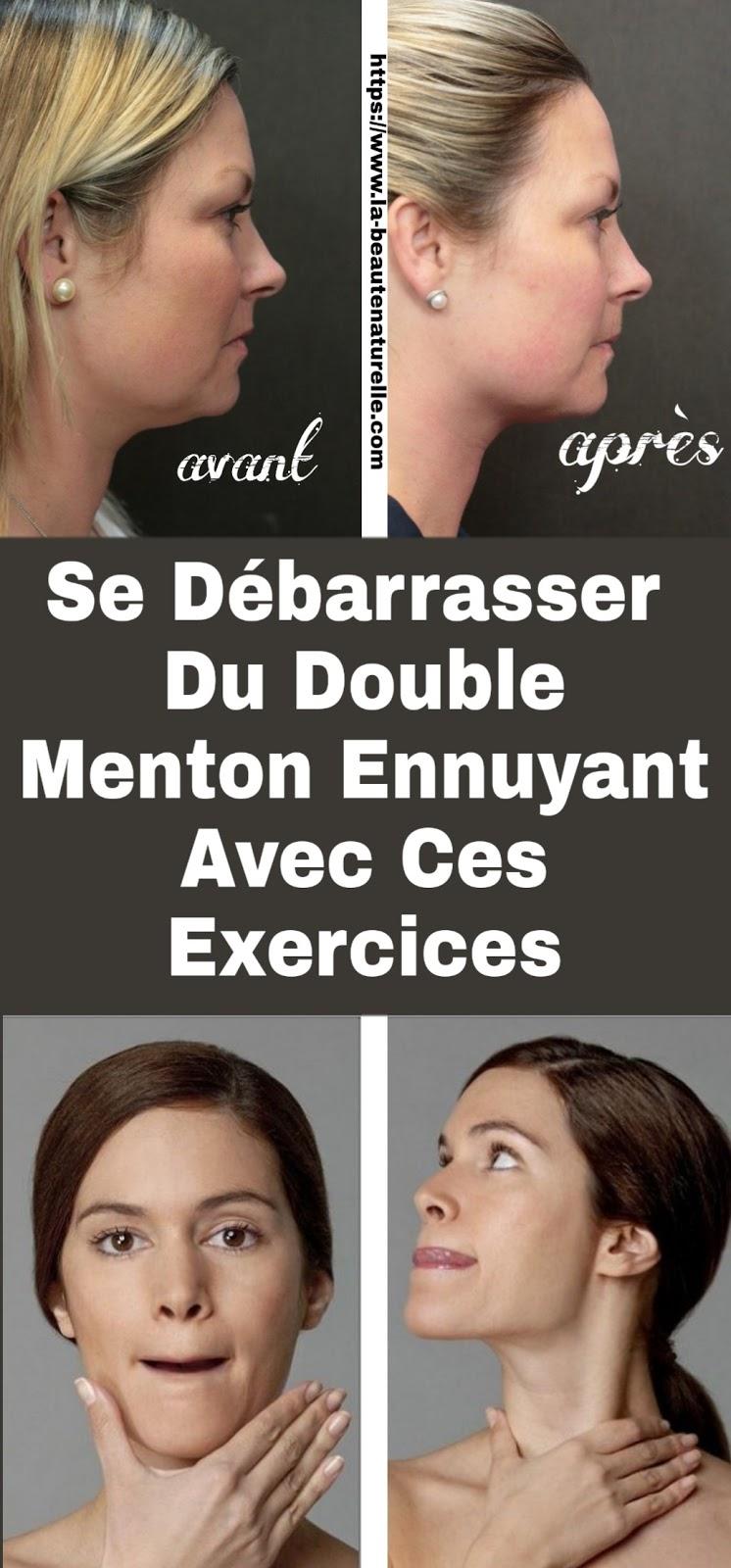 Se Débarrasser Du Double Menton Ennuyant Avec Ces Exercices