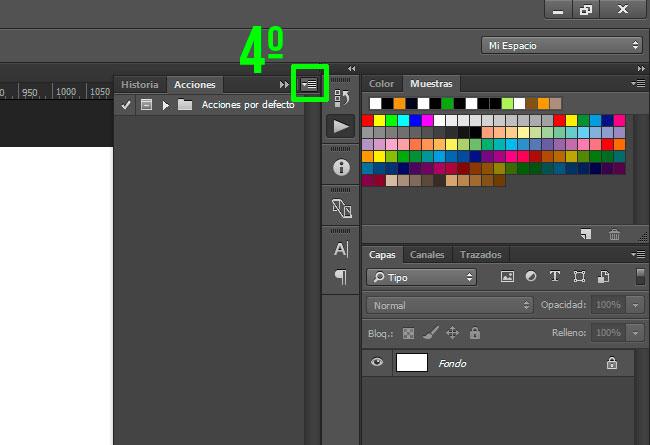 Cómo Cargar Acciones en Adobe Photoshop by Saltaalavista Blog Paso 02