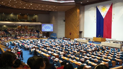 House of Representatives in Quezon City, Philippines