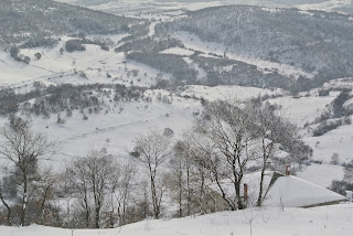 dağlara kar düştü