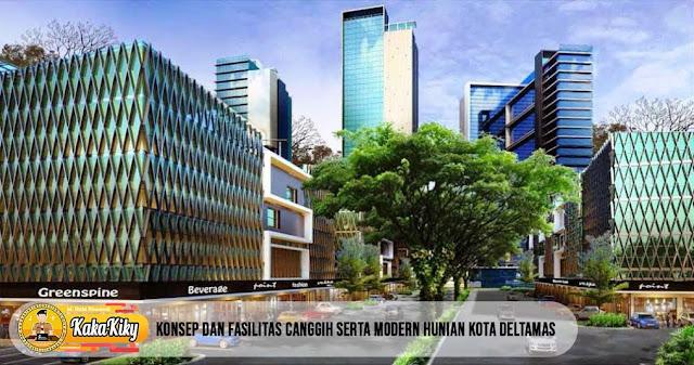 Hunian modern dan fasilitas canggih Kota Deltamas
