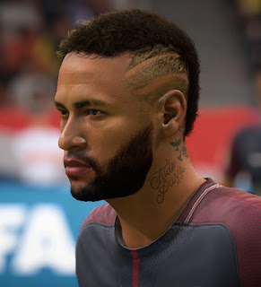 FIFA 18 Faces Neymar Jr by Kenan_AZE