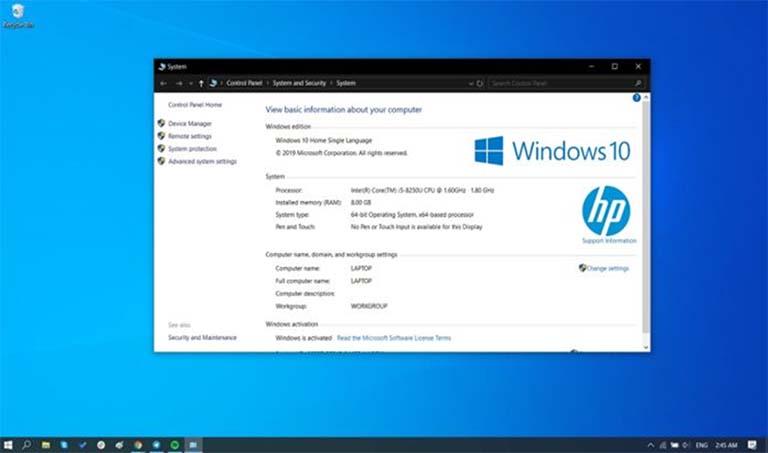 Persyaratan Minimum Perangkat Yang Bisa Dipasang Windows 10 Mei 2019