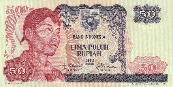 Rp50 tahun 1968