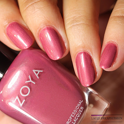 nail polish swatch and review of Maryann from the Zoya Element collection for Fall 2018