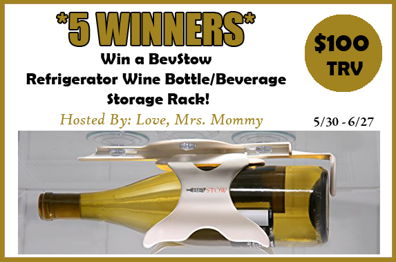 BevStow Refrigerator Wine Bottle/Beverage Storage Rack