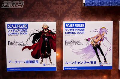 Nobunaga y B.B. de Fate Grand Order