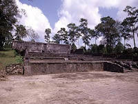 La tomba dell'imperatore della dinastia Nguyen a Hue, Vietnam