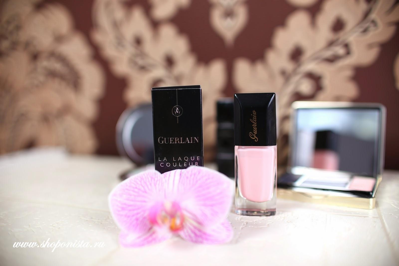 Лак Guerlain  #368 Baby Rose
