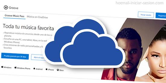 imágenes a tu música favorita y organizarla en OneDrive