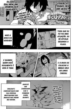 Mangá Boku No Hero Academia Capítulo 145