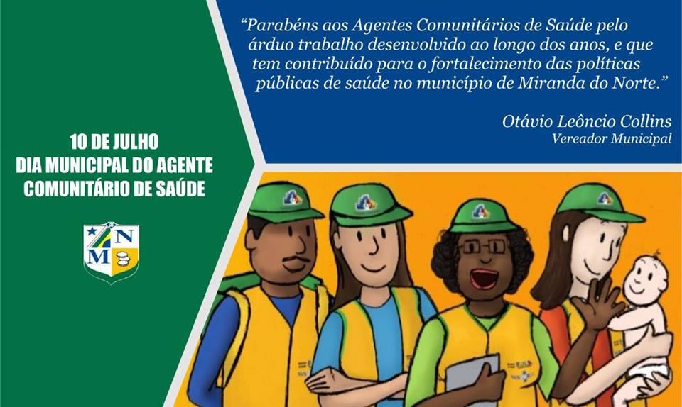 A Justa Homenagem Aos Agentes Comunitários De Saúde Em Miranda Do