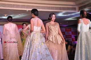 South Indian Celebrities Pos at Love For Handloom Collection Fashion Show  0146.jpg