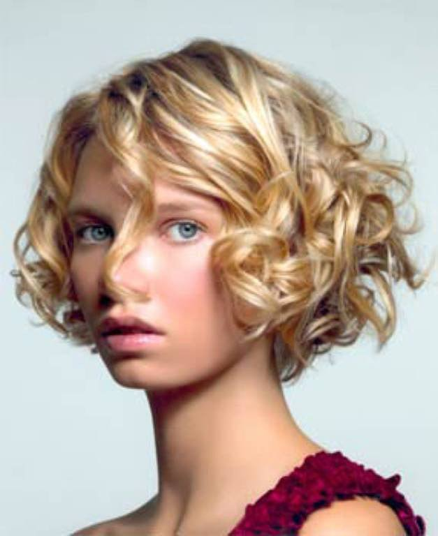 flapper hairstyles for curly hair - 627×720