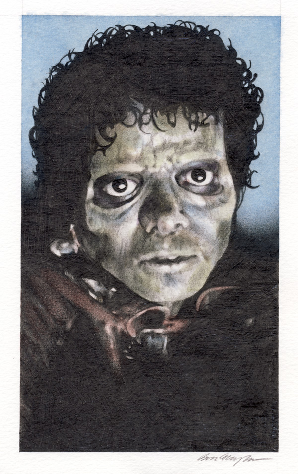 Zombie M.J. from Thriller - Ben Temples