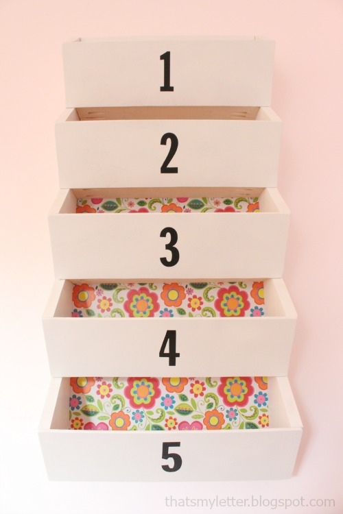 diy wall bins storage pockets