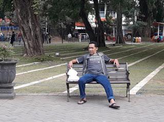 Shaft-shaft untuk sholat di Alun-alun Kota Malang