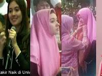 Ini Akun Sosmed Gadis Jelita Yang Jadi Muallaf di Ceramah Zakir Naik di Makassar