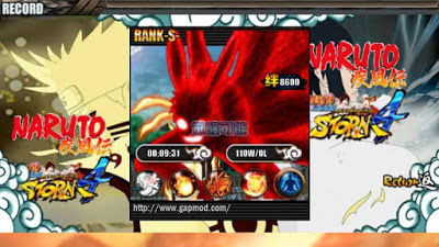 Naruto Senki Mod Ultimate Ninja Storm 4 v4.0 Apk Save Data