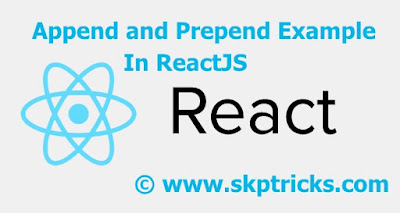 react Append or prepend to an element