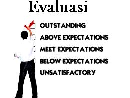Pengertian Evaluasi