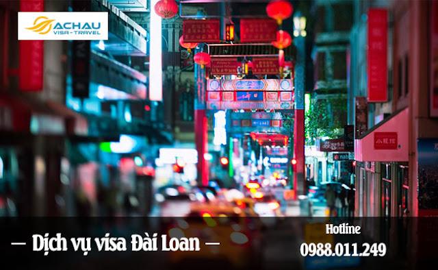 Dịch vụ visa Đài Loan ở Đắk Nông