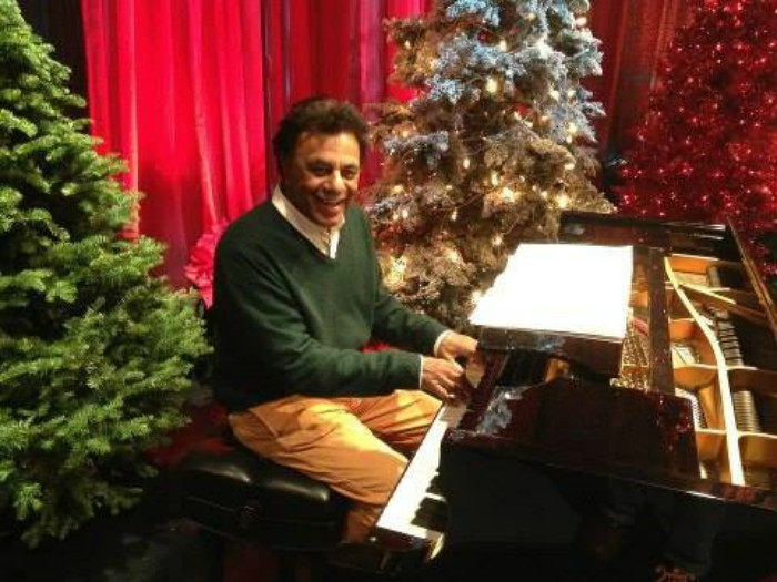 and please this christmas dont forget the poor the ill and those who are all alone anddont drink too much eggnog - Johnny Mathis Merry Christmas