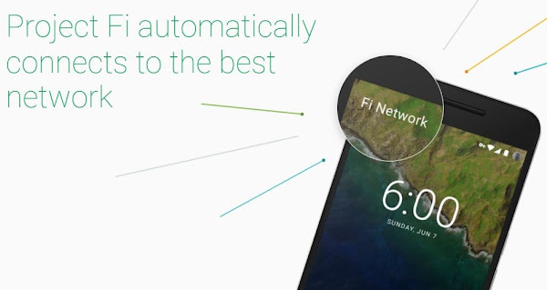 Google行動網路服務「Project Fi」全美開放,流量用多少付多少!