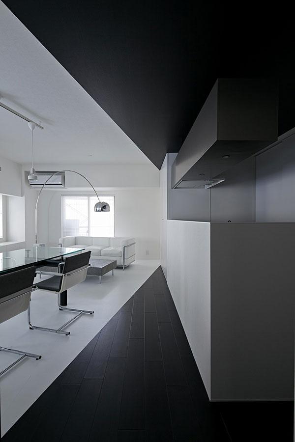 Desain Dapur Minimalis Warna Hitam
