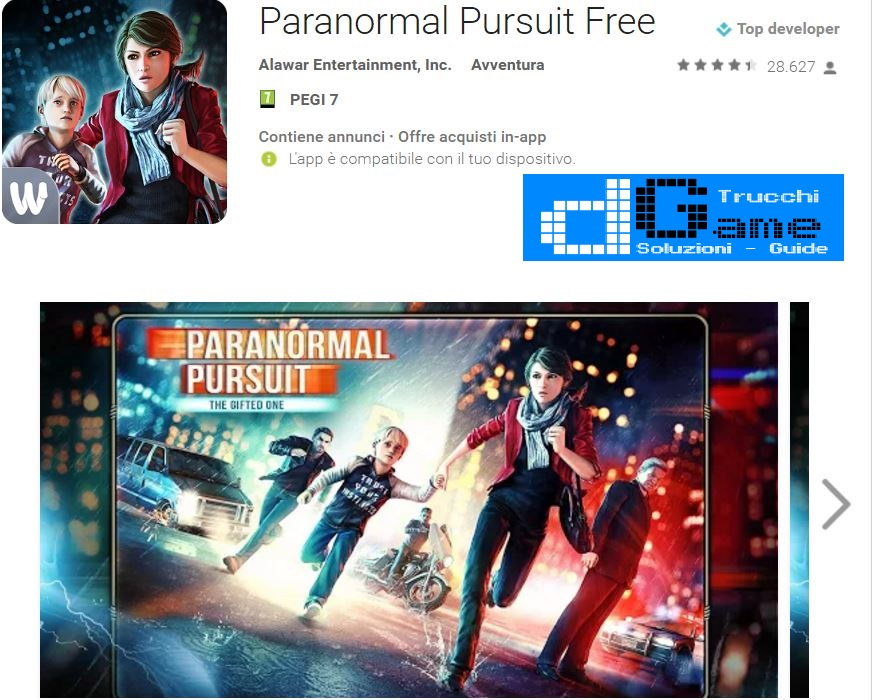 Trucchi Paranormal Pursuit Free Mod Apk Android 1.8