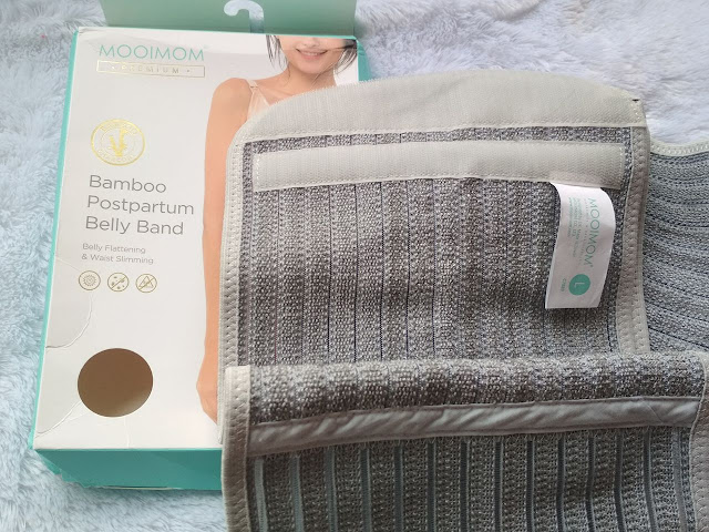 mooimom bamboo postpartum belly band