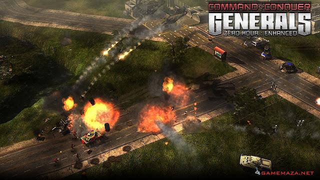 Command & Conquer Generals Zero Hour Gameplay Screenshot 1