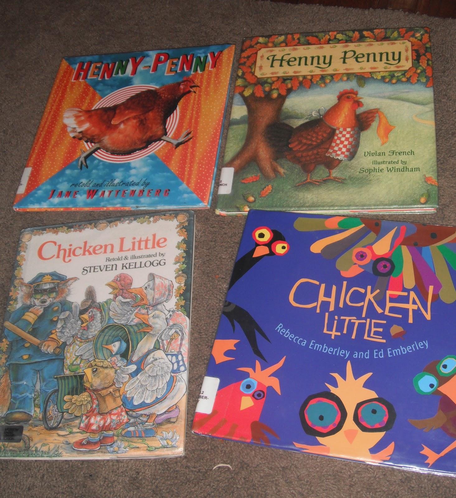 Bookworm Fun Chicken Little Henny Penny