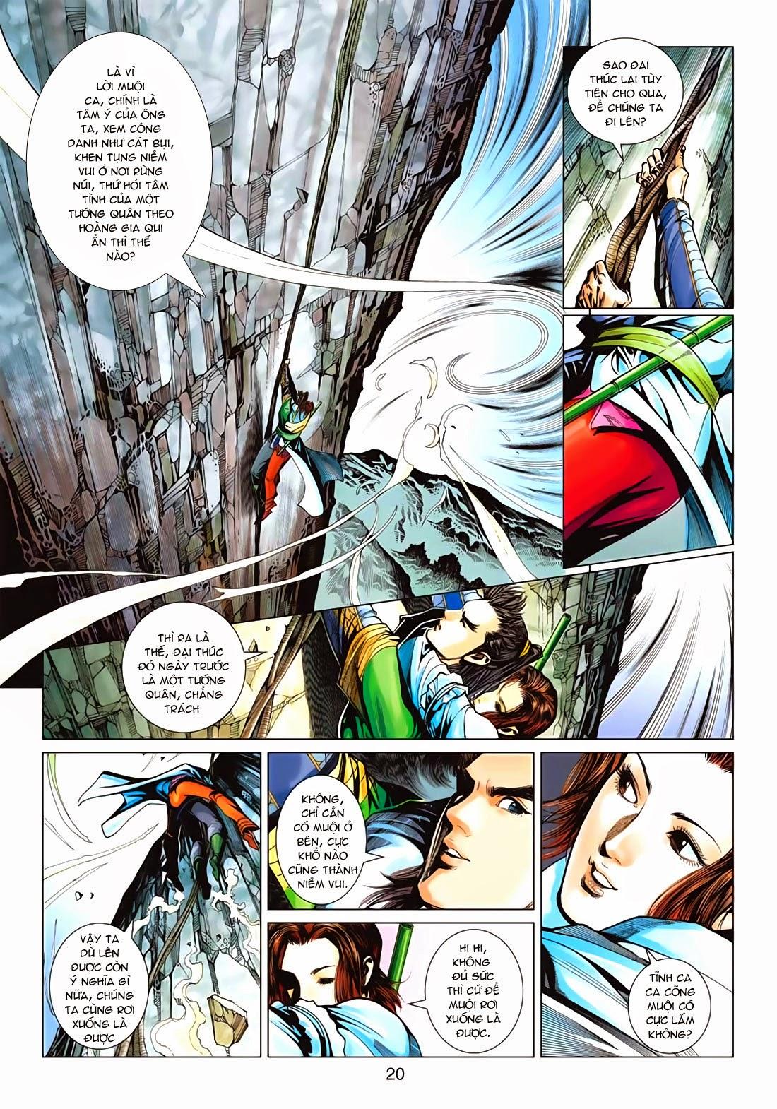 Anh Hùng Xạ Điêu anh hùng xạ đêu chap 72: ngư tiều canh độc trang 20