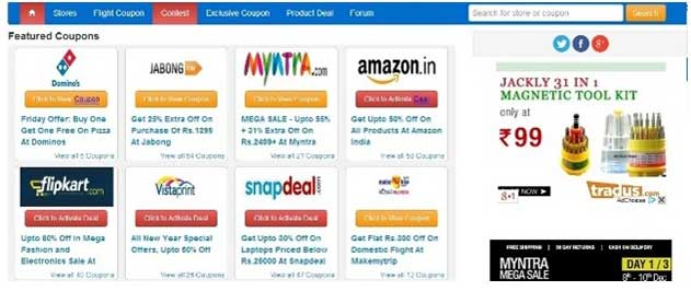 8 Trusted Websites to Find Online Discount Coupons: WiKiAskMe