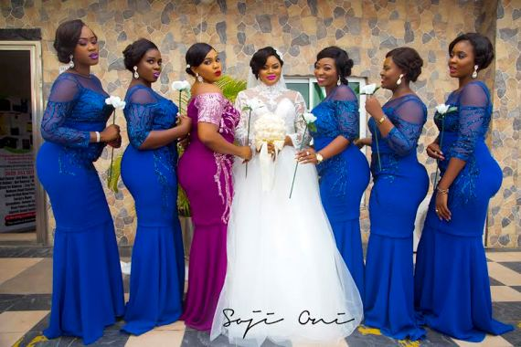 Wedding Gown Designs For Chubby: Who Said Chubby Bridesmaid Can't Be Hella Fabulous? (photos