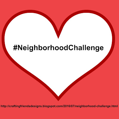 Come Join Me in my new Neighborhood Challenge!