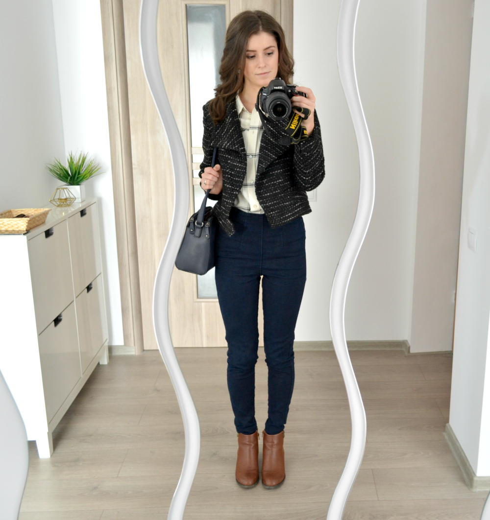 fall office wear  what i wore  cappuccino and fashion