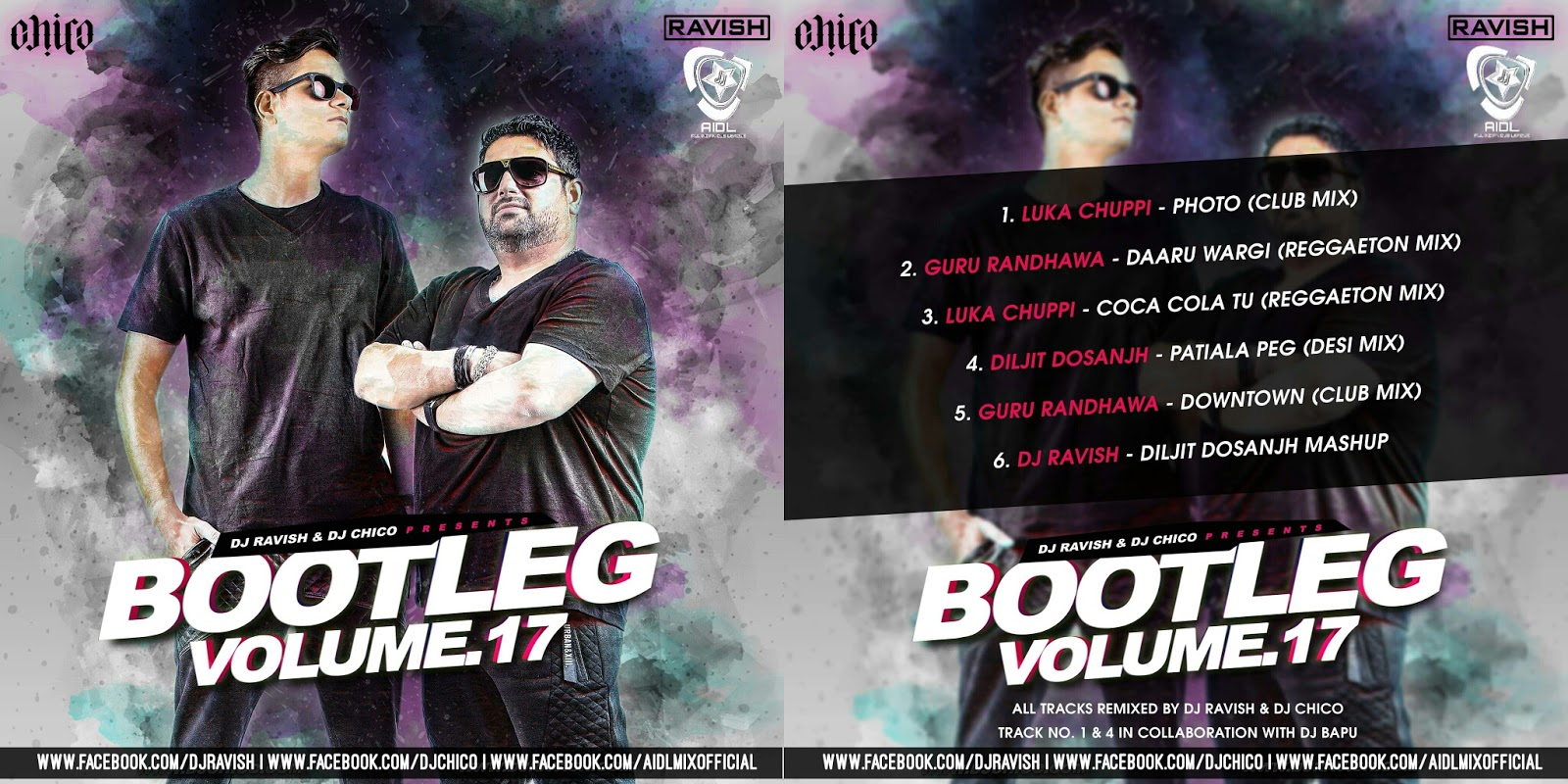 Bootleg Vol 17 - DJ Ravish & DJ Chico | AIDL - All Indian