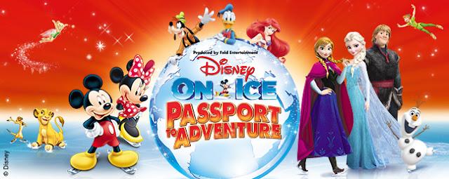Disney on Ice Passport to Adventure Show Manchester