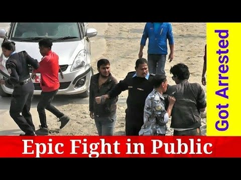 Nepali Prank - Epic Fight in Public (Got Arrested)