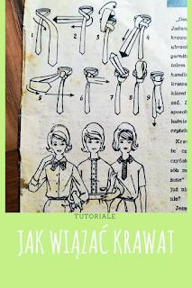 grafika - rysunek przedstawiający jak wiązać krawat