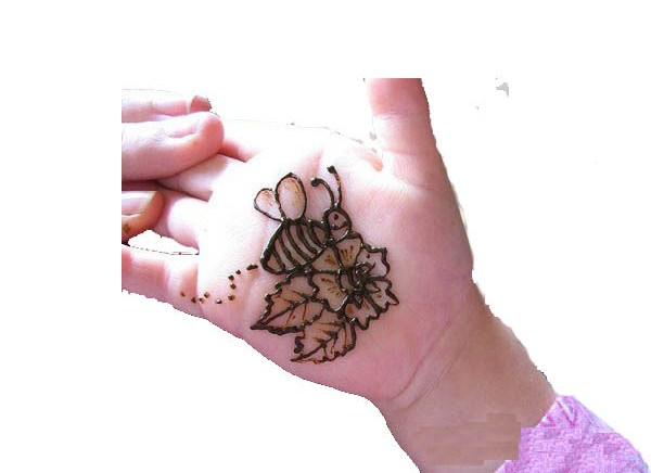 Butterfly Design Mehndi For Sweet Baby! Art Magazine