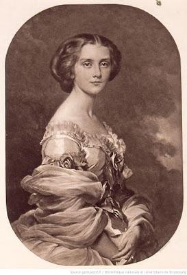 portrait Melanie de Bussière Comtesse Edmond de Pourtalès