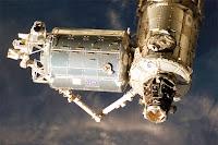 Uluslararası uzay istasyonun bir modülü