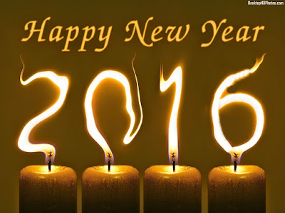 Happy New Year Candle Wish