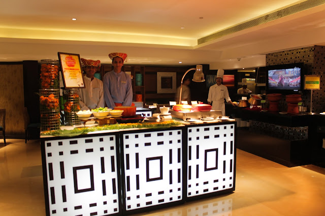 Hotel Sahara Star The Earth Plate Vegetarian Buffet Lunch Dinner Photography Food Blogger Review Festival India