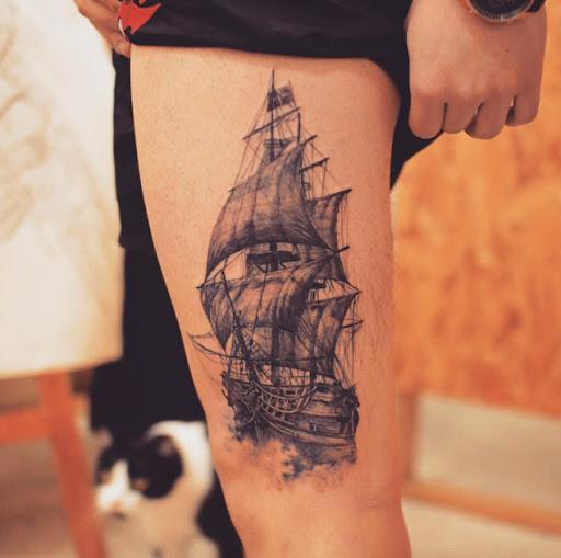 Idees Et Photos De Tatouages Incroyable Navire De Tatouages Vous Ne Le Croirez Pas Sont De Veritables